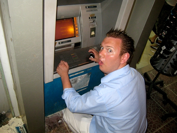 Bankomat för pygméer