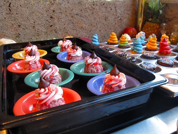 Cupcakes innan Disneyland
