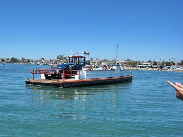 Färja till Balboa Island