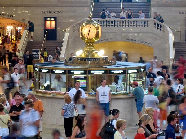 Informationen på Grand Central Station