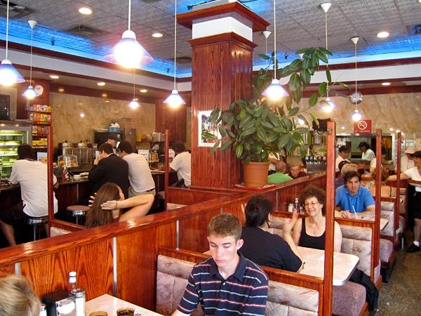 Inredningen på Toms Restaurant
