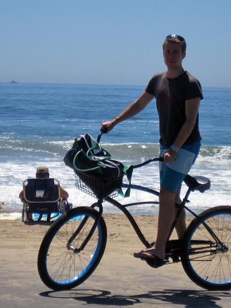 Samma cykel som ET använde