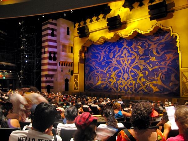 Teater med Aladdin