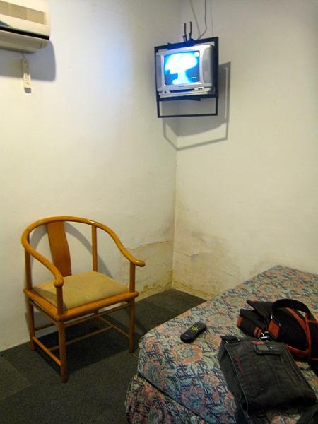 Tvivelaktigt hotellrum i Kuala Lumpur