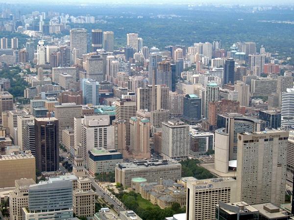 Utsikt över Toronto