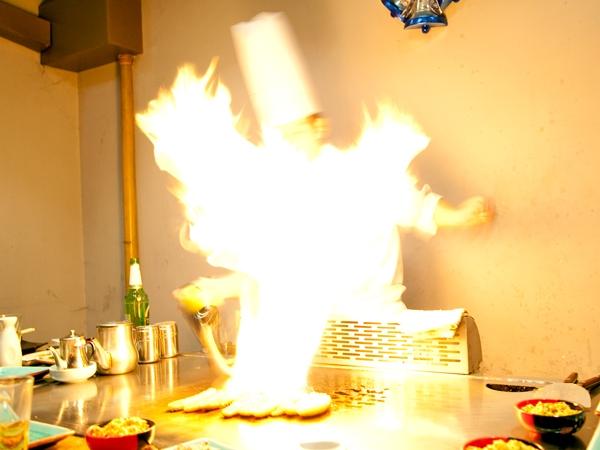 Vår kock brinner