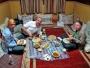 Som enda västerländska gäster troligtvis någonsin kan vi bara konstatera att maten var klart bättre än den på Hiltons restaurang.
