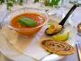 Det är en kall spansk soppa som är jättegod.