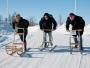 Ett nästan för övertänt gäng amatörsparkare ställde upp i det årliga Kiruna-racet. Tyvärr gav det en hel rad med tjuvstarter och annat fusk.